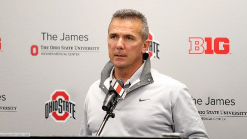 Urban Meyer talks Penn State and more Monday.