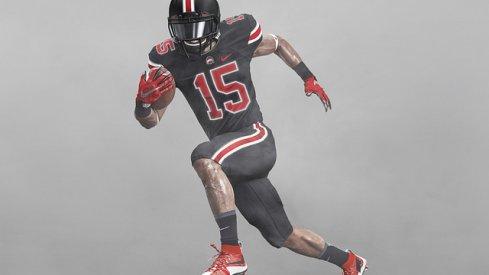 Ohio State's black jerseys vs. Penn State