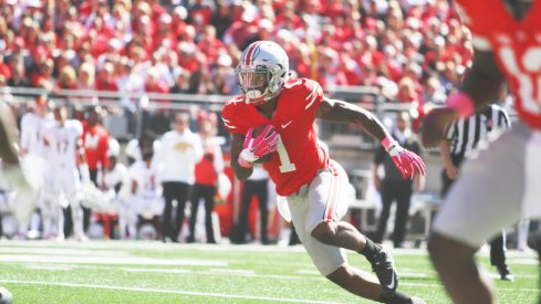 Braxton Miller's getting more comfortable in his new position and yearns for more touches.
