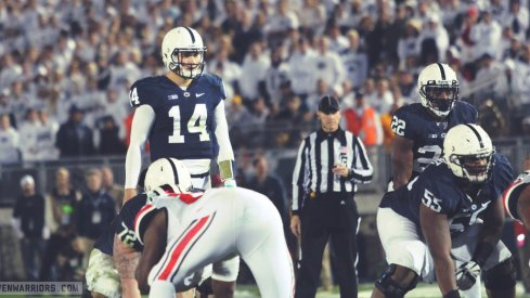 Christian Hackenberg leads what Urban Meyer called the best passing offense his team's seen so far.