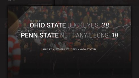 Ohio State Penn State Infographic Header