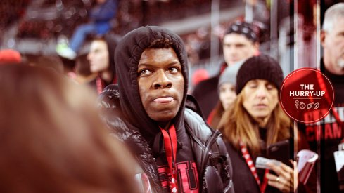 Lamont Wade at Ohio State on Saturday, he hopes to be back in late November.