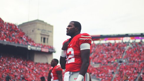 Cardale Jones prior to an Ohio State home game.