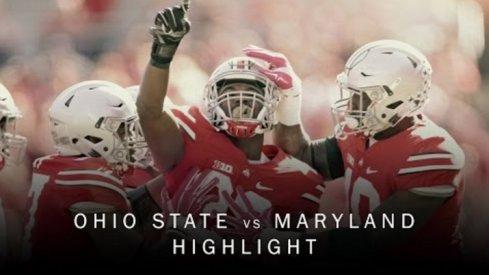 Ohio State vs. Maryland Highlights