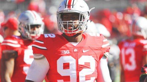 Ohio State defensive tackle Adolphus Washington.