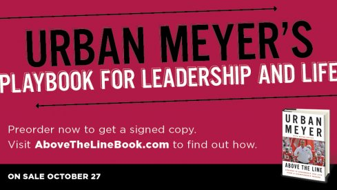 Urban Meyer's new book, Above the Line, on sale October 27