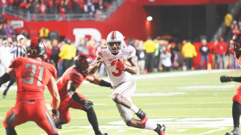 Ohio State's offense torched Rutgers Saturday.