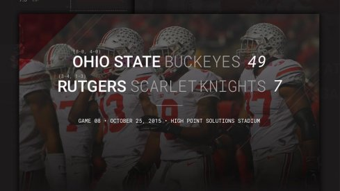 Ohio State Rutgers Infographic Header
