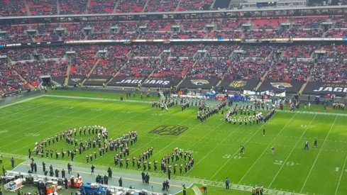 Script Ohio in Wembley Stadium!