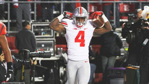 Curtis Samuel approves: Ohio State is No. 1 after thumping Rutgers.
