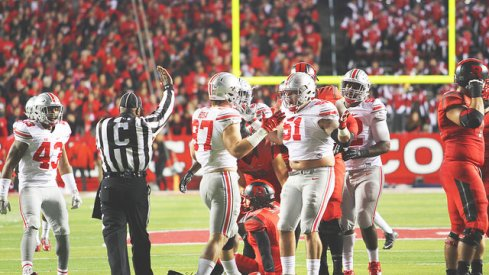 Bosa and Hale hit the double shruggie vs. Rutgers.