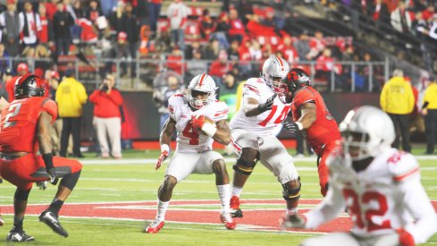 Curtis Samuel is a favorite of Urban Meyer's, but setbacks with back and hamstring issues have kept his role in Ohio State's offense slim.