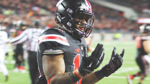 Ezekiel Elliott after a TD against Penn State.