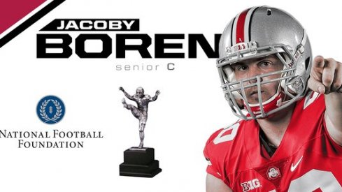 Jacoby Boren named a finalist for the William V. Campbell Trophy
