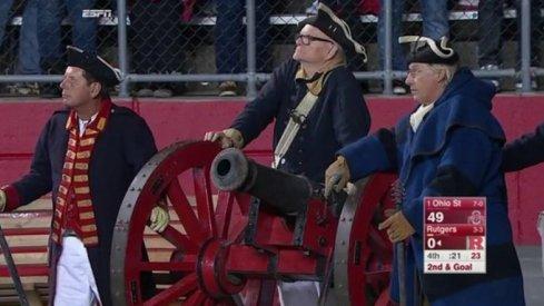 #PhotoshopPhriday: Rutgers Cannon Guard