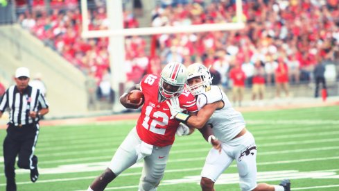 Through a mistake by his friend, Cardale Jones can again make his case to be Ohio State's starting quarterback.