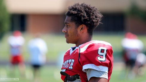 Jaelen Gill had a monster game for Westerville South on Friday night.
