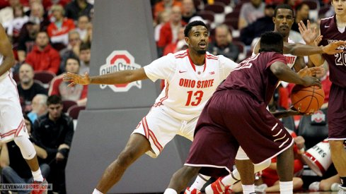 JaQuan Lyle defends in his Ohio State debut.