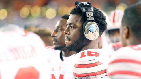 J.T. Barrett's license has been suspended and he must pay a $400 fine for his OVI citation.