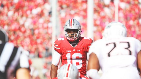 J.T. Barrett is listed as Ohio State's starting quarterback on its latest depth chart.