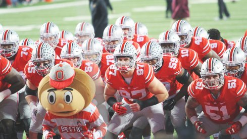 Ohio State is still No. 3 in the College Football Playoff rankings.