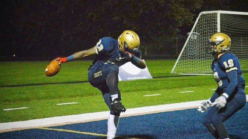 Todd Sibley had a huge night on Friday for Akron Archbishop Hoban.