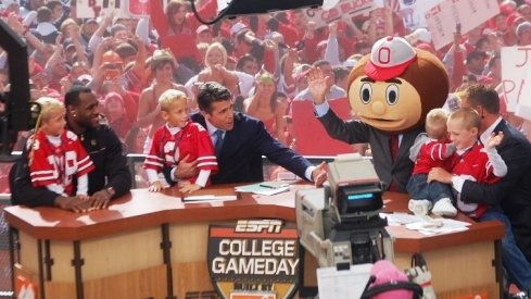 ESPN's College Gameday in Columbus.