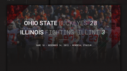 Ohio State Illinois Infographic Header