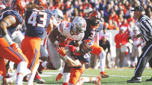 Urban Meyer said he doesn't plan to change Ezekiel Elliott's role moving forward for Ohio State.
