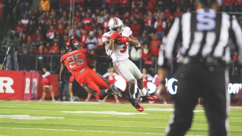 Mike Thomas gets #bizzy against Rutgers.