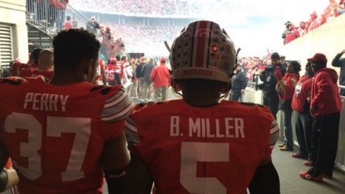 Braxton Miller will wear No. 5 for final home game against Michigan State.