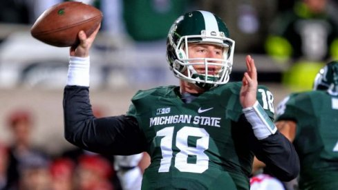 Connor Cook will not play vs. No. 3 Ohio State.