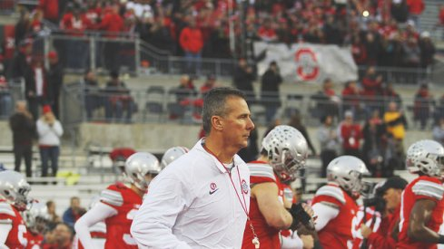 The Buckeyes took a fall in this week's Coaches Poll.