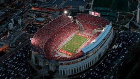 Ohio Stadium new record.