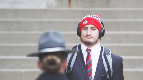 Ohio State defensive end Joey Bosa prior to the Michigan State game.