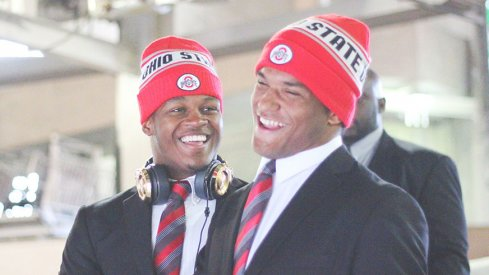 Ohio State linebackers Raekwon McMillan and Dante Booker react to this piece.
