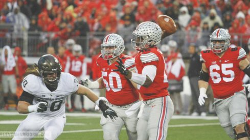 If Ohio State couldn't pass against Michigan State, how will it do so against Michigan?
