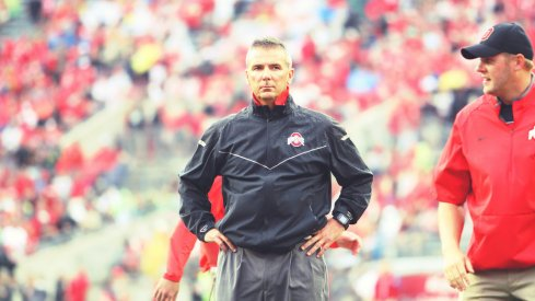 Urban Meyer knows his offense is struggling, but said right now the only thing on his mind is beating Michigan.