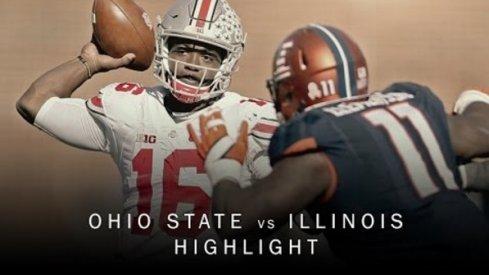 Ohio State vs. Illinois Highlights