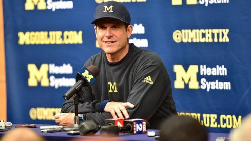 This Ohio State fan is thankful for Jim Harbaugh. #BeatMichigan