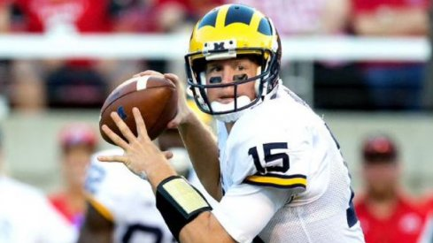 Jake Rudock leads Michigan's West Coast passing attack