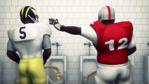 The Taiwanese Animators provide a tribute to Ohio State–Michigan