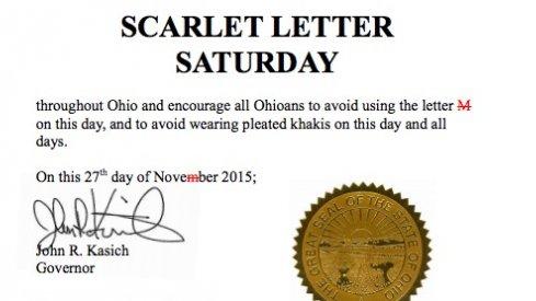 Scarlet Letter Saturday 2015