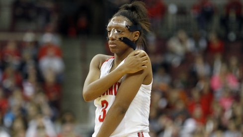 Kelsey Mitchell led all scorers with 20 points.