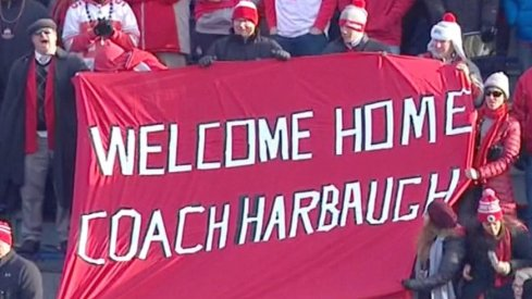 Welcome Home Coach Harbaugh