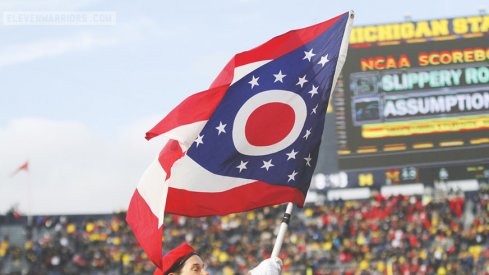 Ohio State is now 47-46-4 against Michigan in Big Ten play.