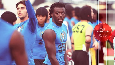 Richard LeCounte at the FBU Camp in Dublin, Ohio in summer of 2015.