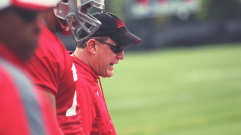 Whether or not Ed Warinner will coach in the Ohio State press box moving forward is unknown.