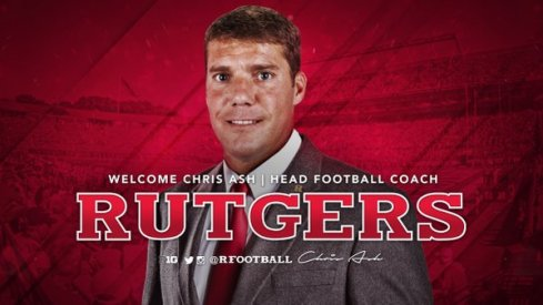 Rutgers officially announced Ohio State's Chris Ash as its next head football coach Monday.