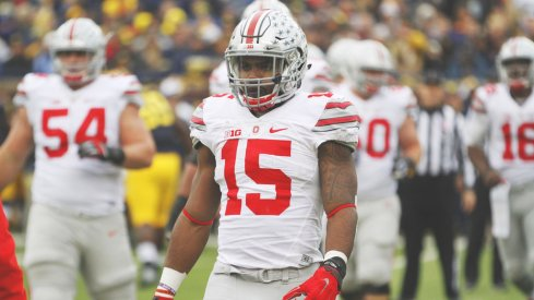 Ezekiel Elliott is the 2015 recipient of the Chicago Tribune Silver Football.